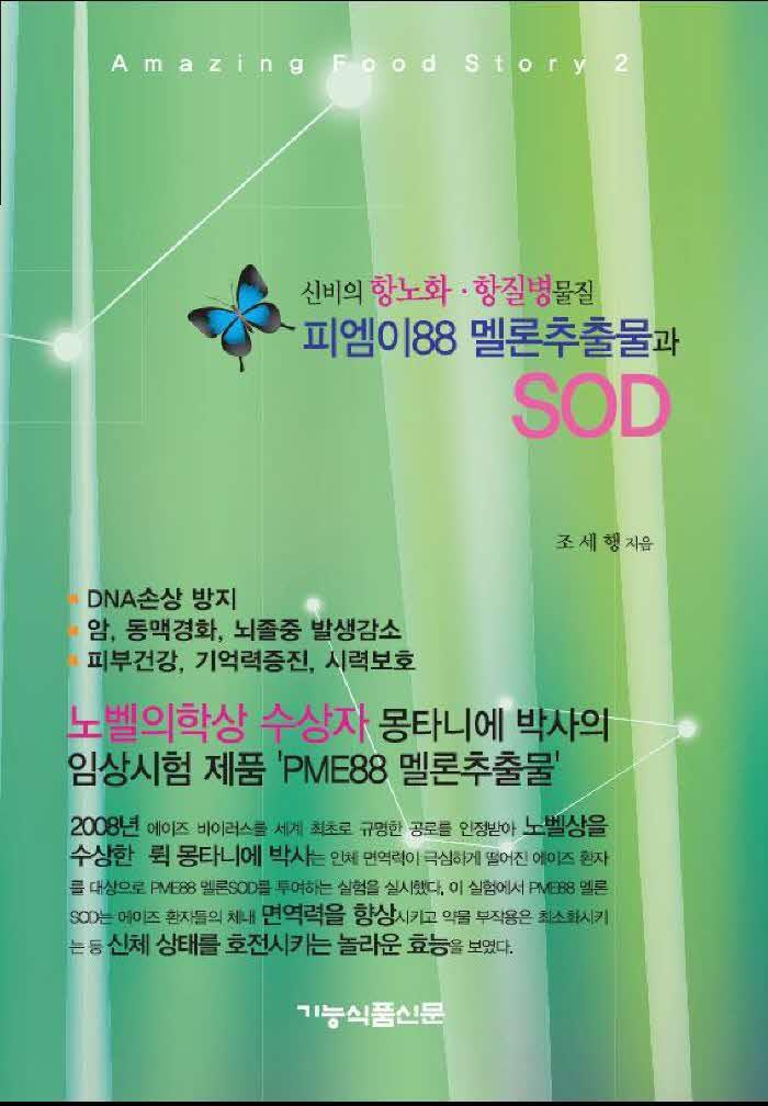 피엠이88 멜론추출물과 SOD