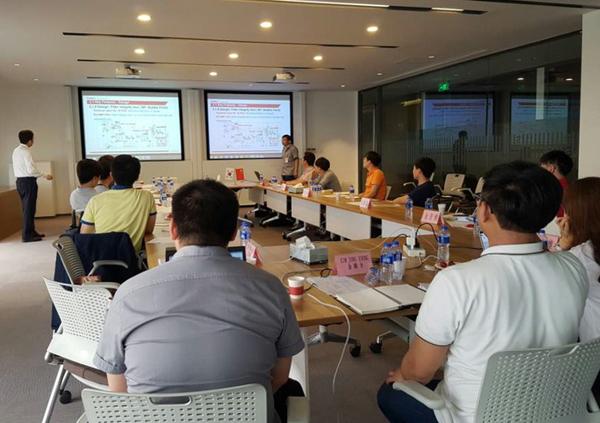 중국 Tofflon 본사에서 진행된 FD Training 모습