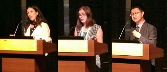 왼쪽부터 Victora 교수, Parisa 교수, 안기종 대표