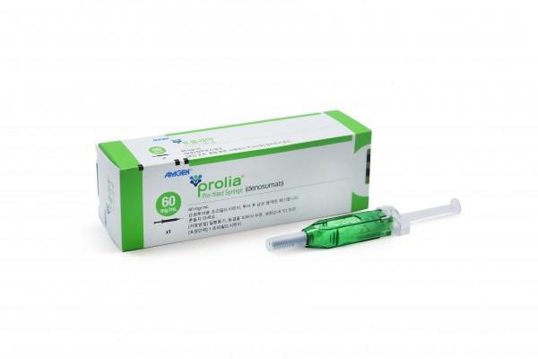 암젠의 골다공증 치료제 프롤리아