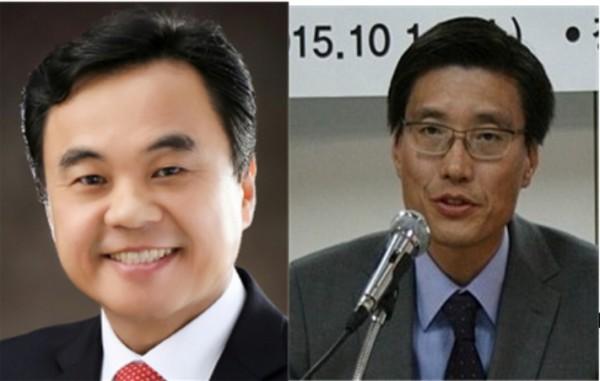 (왼쪽부터) 한동원, 김범석