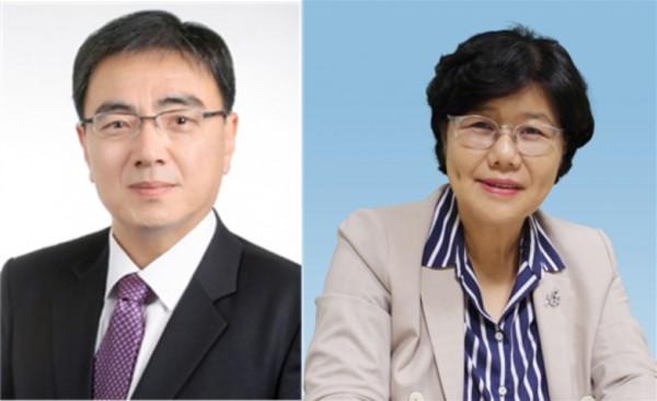 (왼쪽부터)박근희, 양덕숙