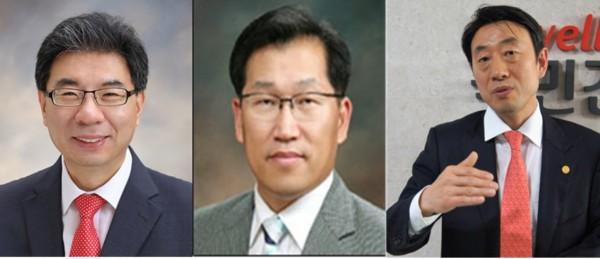 (왼쪽부터) 박영달, 김광식, 조양연