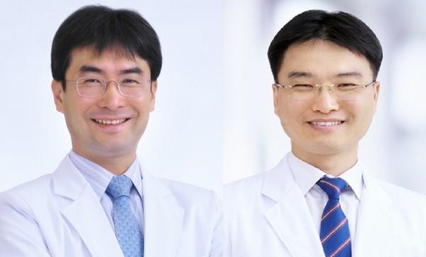 왼쪽부터 가정의학과 박상민 손정식 교수
