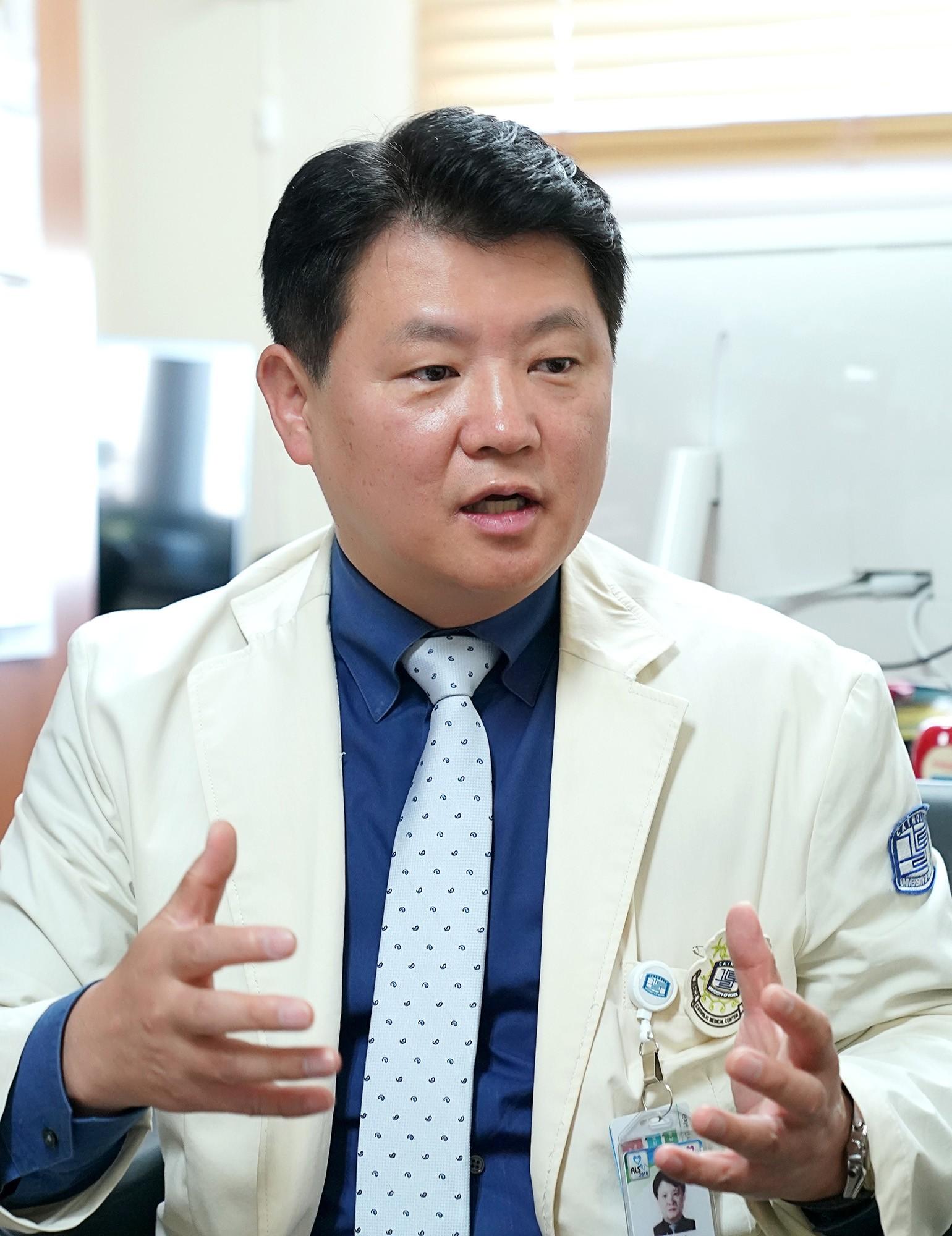 서울성모병원 혈액내과 엄기성 교수