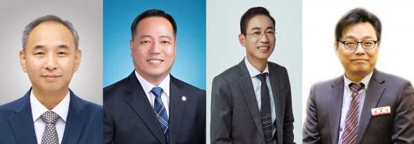 (인쪽부터) 인천 조상일, 대전 차용일, 경북 고영일, 경남 최종석 당선인