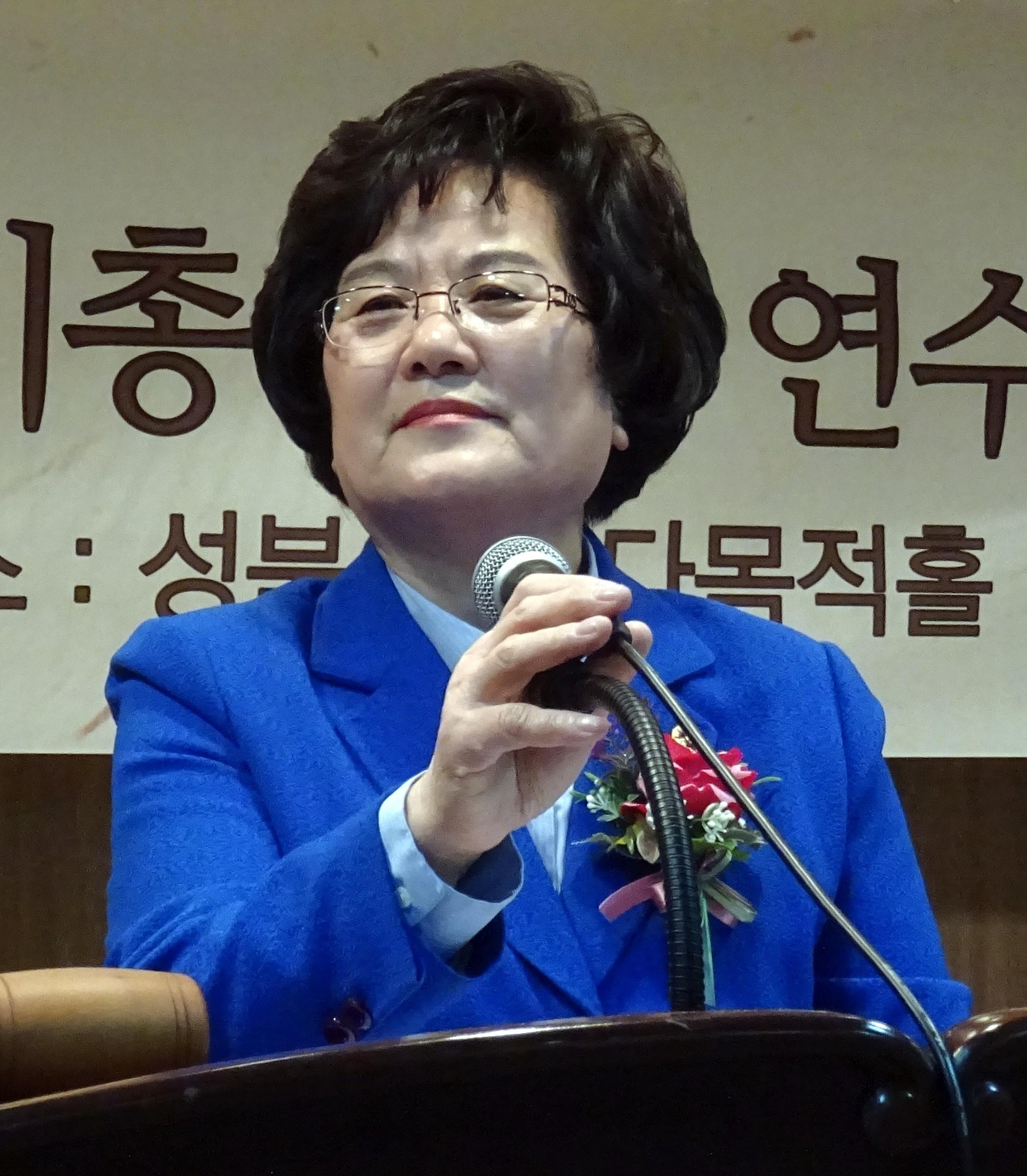 전영옥 성북구약사회장