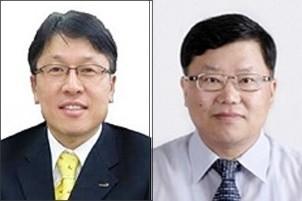 사진 원쪽이 이동희 원장, 오른쪽은 김진석 기획조정관
