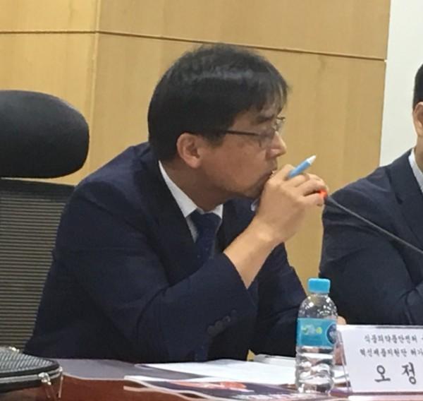 식약처 융복합 혁신제품지원단 오정원 허가총괄팀장
