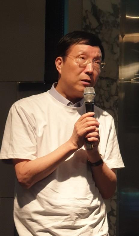 인사말하는 제노허브 김영순 대표