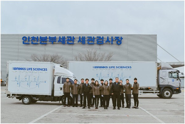 브링스글로벌 1톤 & 5톤 온도유지 차량 및 제약 전담팀