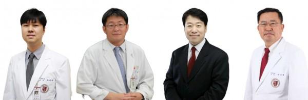 허준석 교수 팀(허준석, 이장보, 조태형, 박정율 교수)