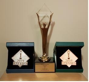 질병관리본부, 국제비즈니스 어워드(IBA) 금, 은, 동상 수상