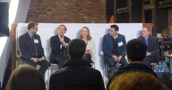 2020 JP모건 헬스케어 컨퍼런스 연계 행사로 열린 아톰와이즈(Atomwise) 주최 패널 토의에서 스티븐 추(Steven Chu) 스탠포드대 교수가 발언하고 있다.