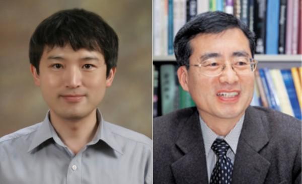 (왼쪽부터)손태권 박사·김규원 교수