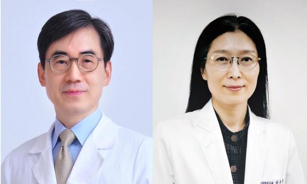 (왼쪽부터)김효수, 이은주 교수