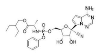 렘데시비르 분자식