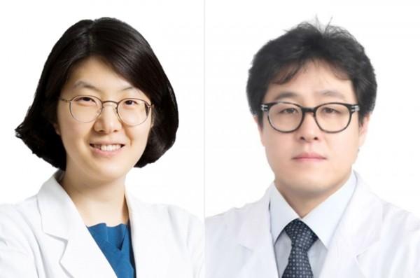 사진 왼쪽부터 홍지연 교수, 신승일 교수