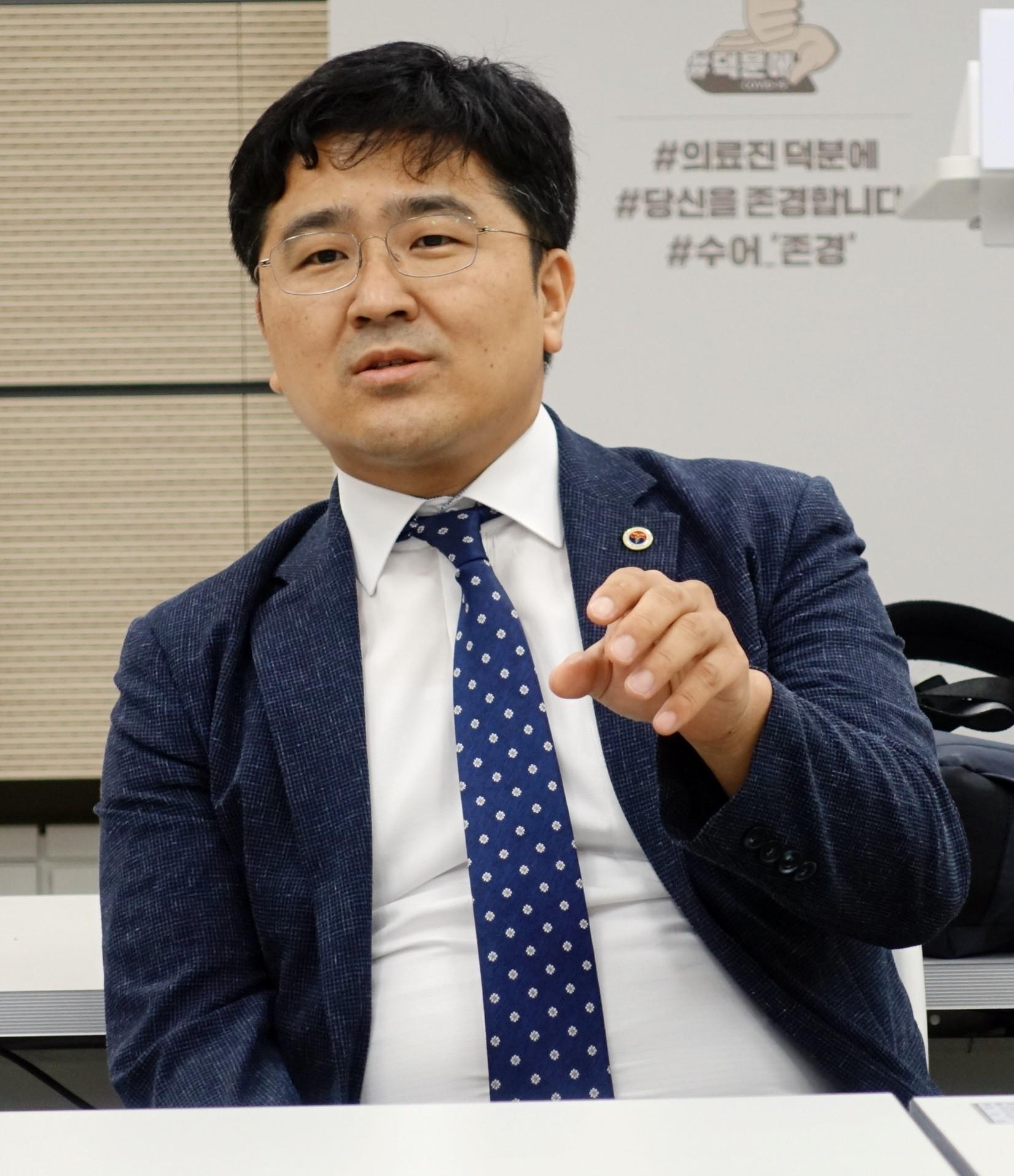 의협 박종혁 총무이사 겸 대변인