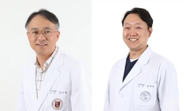 신경외과학교실 강신혁, 정규하 교수