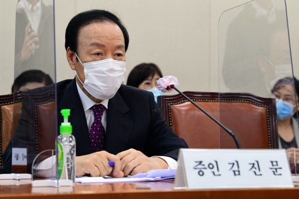 김진문 신성약품 대표(국회 전문기자협의회 사진 제공)