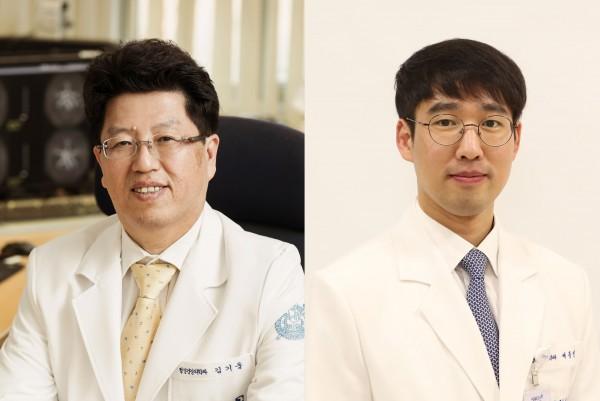 분당서울대병원 정신건강의학과 김기웅 교수(좌), 배종빈 교수(우).