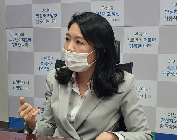 신현영 더불어민주당 의원(사진=국회 보건복지위 전문기자협의회 제공).