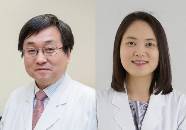 왼쪽부터 서울아산병원 가정의학과 조홍준, 국제진료센터 강서영 교수