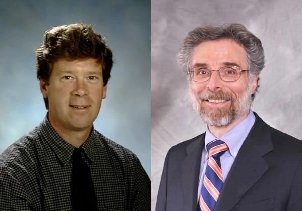 왼쪽부터 MD 앤더슨 암센터 Patrick M. Dougherty 교수와 로체스터대학병원 Robert H. Dworkin 교수.