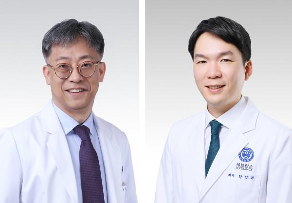 강남세브란스병원 유방외과 정준(좌), 안성귀(우) 교수