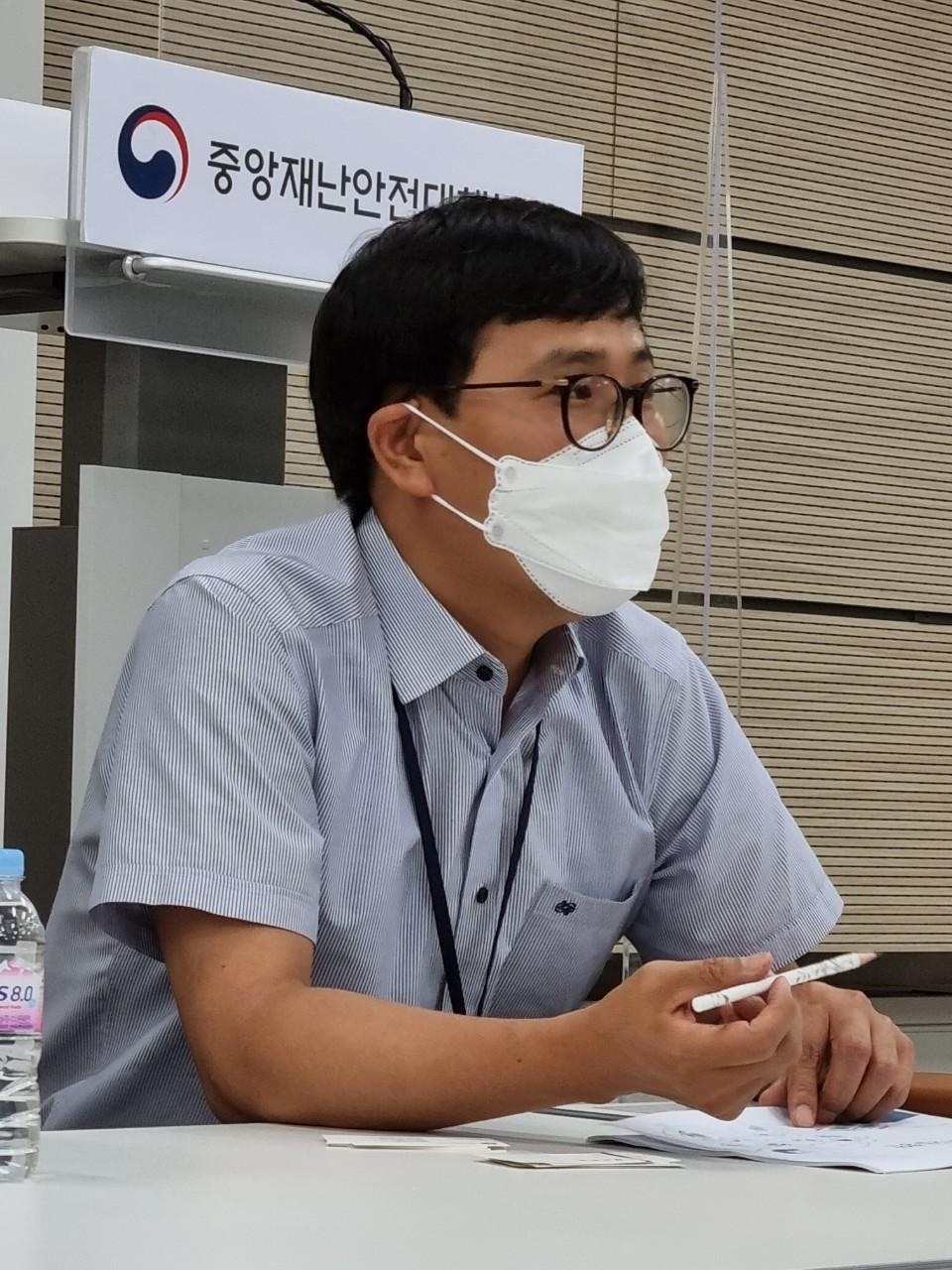 보건복지부 신욱수 의료정보정책과장(사진=복지부 전문기자협의회).