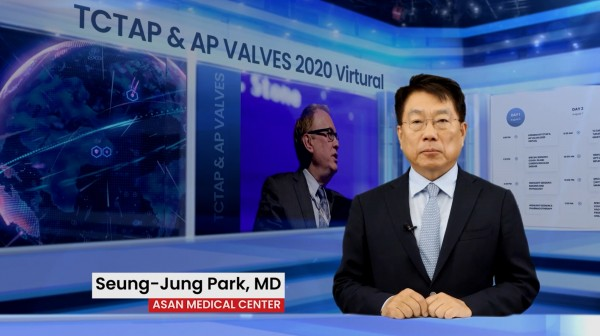 TCTAP & VALVES 2020 Virtural에서 서울아산병원 심장내과 박승정 교수