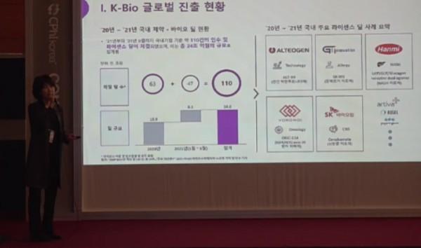 SK바이오팜 신해인 사업개발본부장