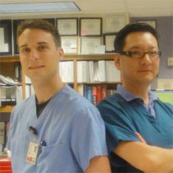 임성락 약사(오른쪽)와 Vincent Polito 약사(왼쪽)
