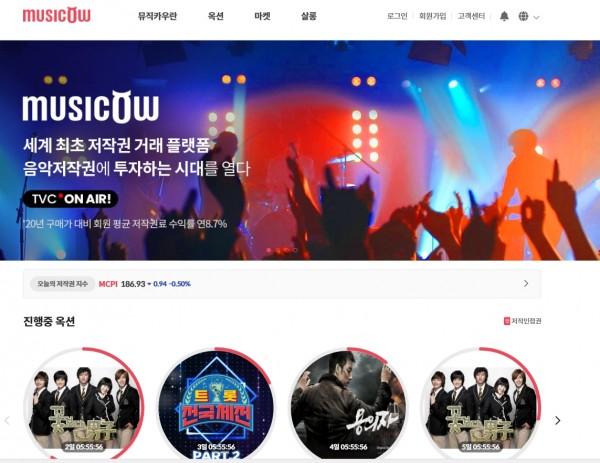 음악저작권에 투자하는 아트플랫폼, 뮤직카우