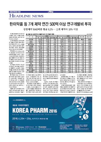 약업신문 5492호 2016년 4월 6일(수)